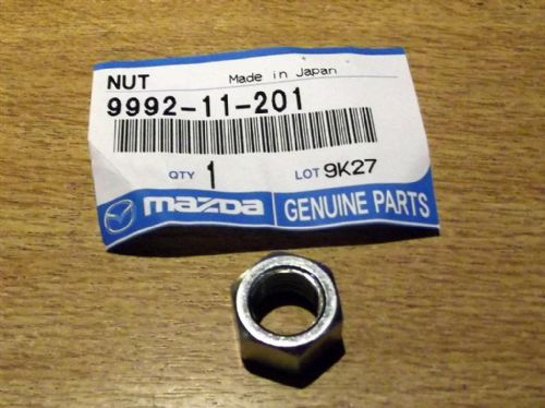 Nut, track rod end locking, Mazda MX-5 mk1 & mk2, 999211201